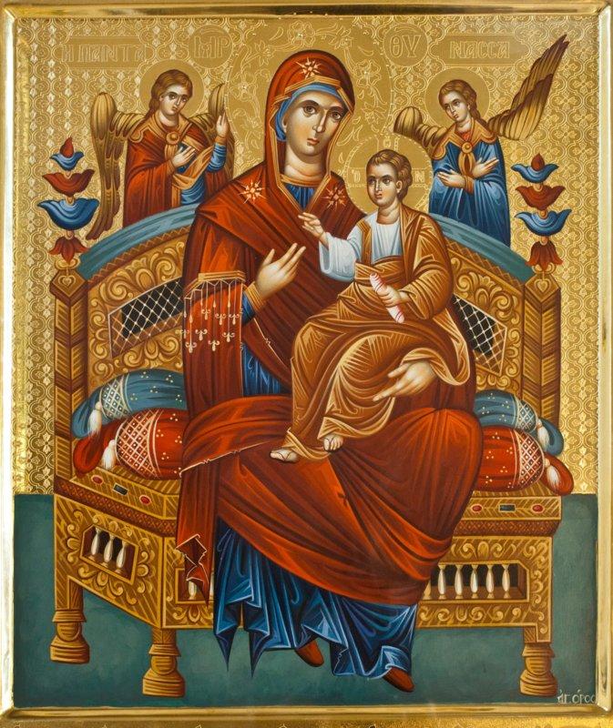 Beschrijving van het pictogram van de moeder van God