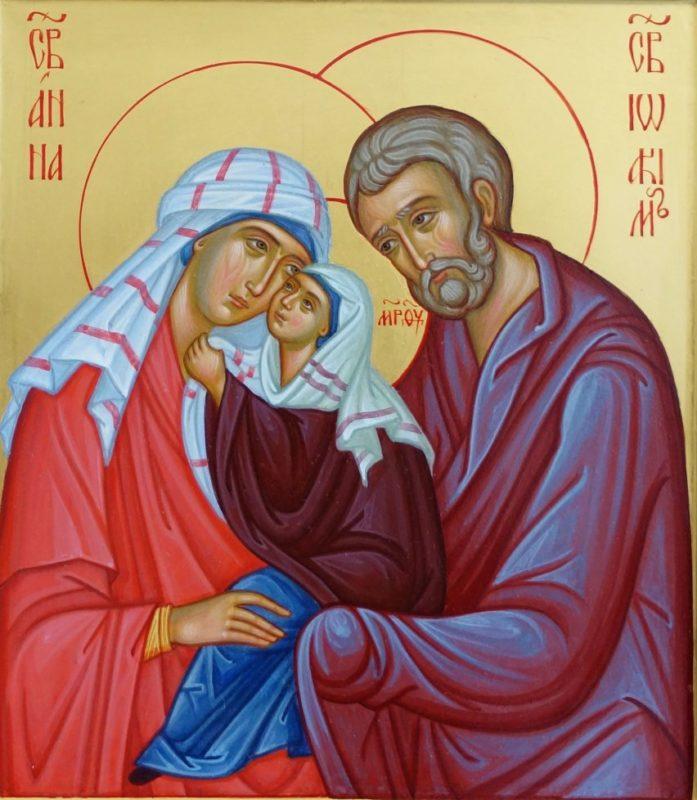 Gebed tot Joachim en Anna