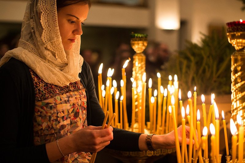 Sterke orthodoxe gebeden