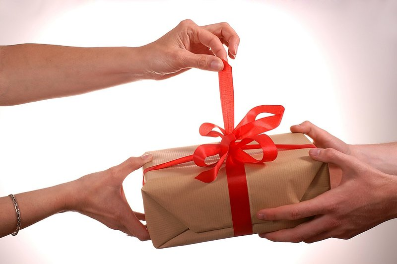 Wat te zeggen geschenk