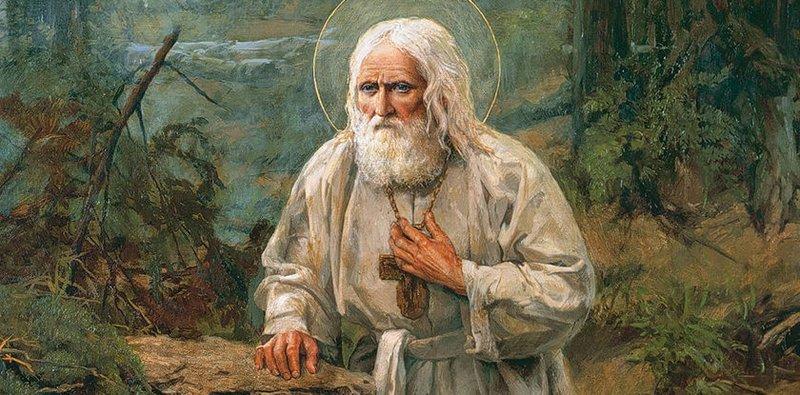 Hulp van St. Serafijnen van Sarov in het bedrijfsleven