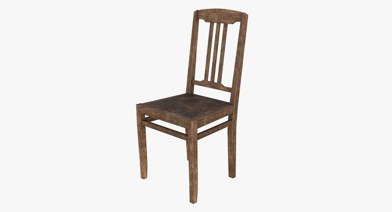 plot op een stoel