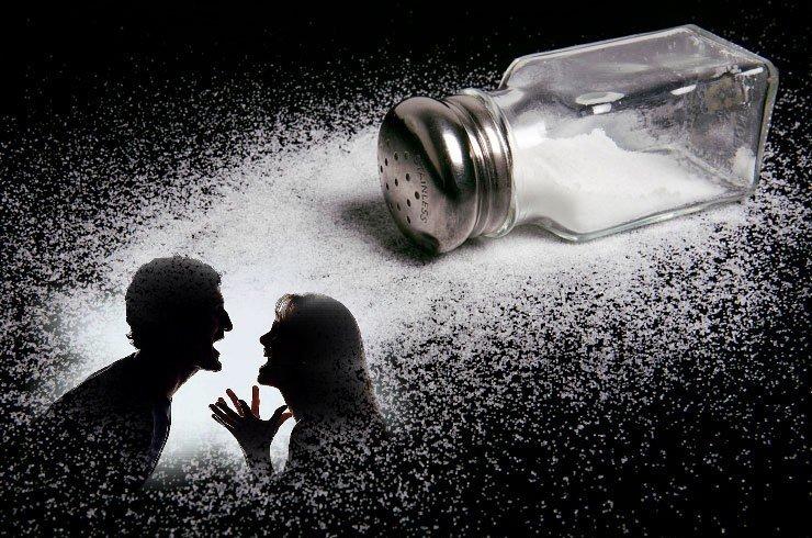 Een stuk zout voor echtscheiding