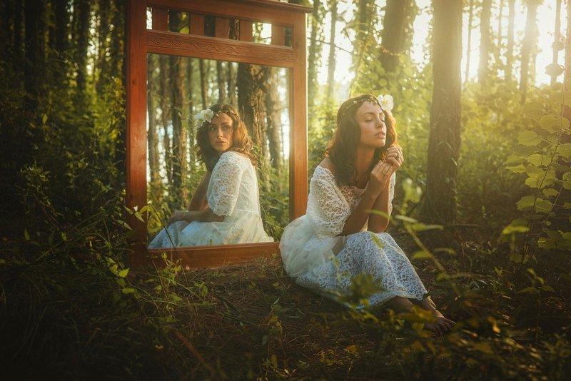Gebed in de spiegel