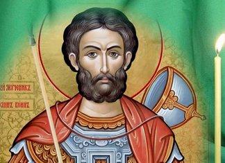 Prières orthodoxes à Jean le guerrier