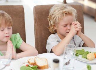 Prière de manger