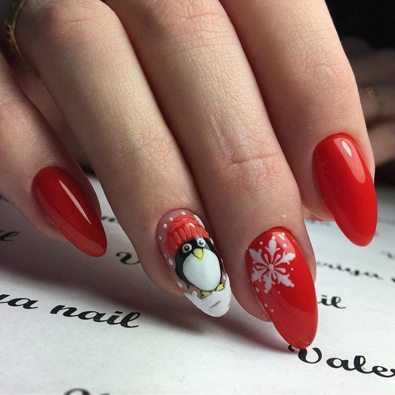 Nieuwjaars manicure