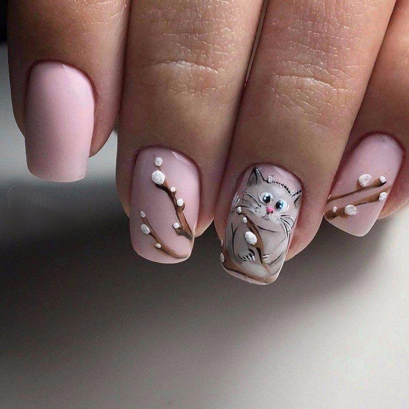 Kunstdruk manicure