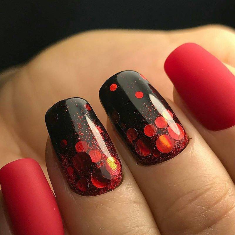 Kamifubuki in zwart en rood