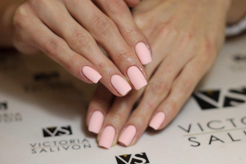 Minimalistisch roze mat ontwerp.