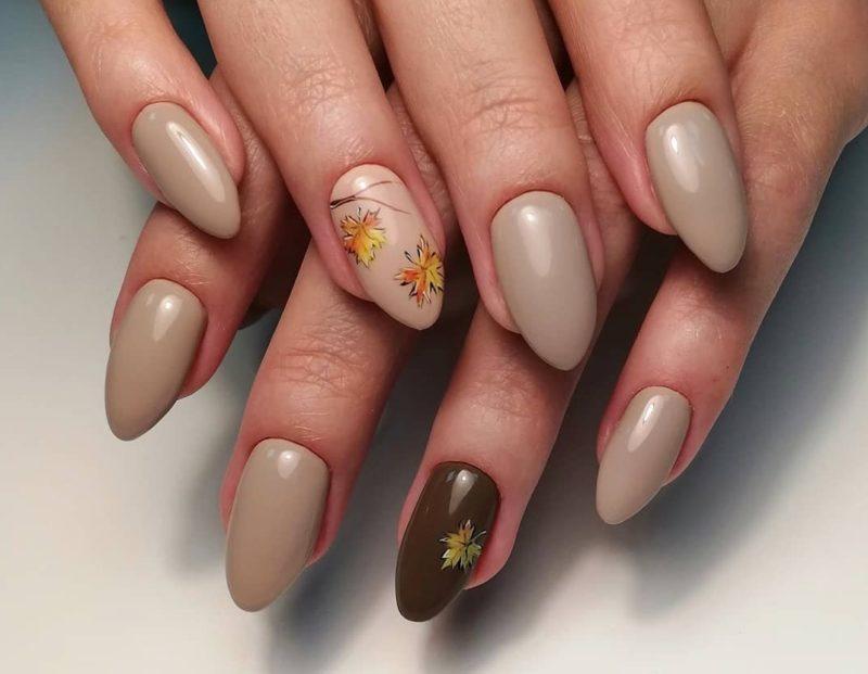 Zachte herfst manicure