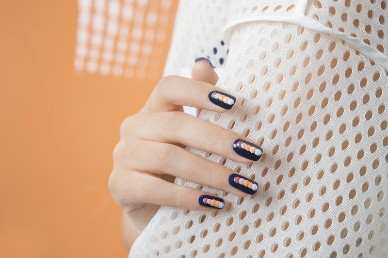 Volumetrische punten op de nagels