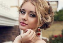 Maquillage de mariage pour les yeux bruns