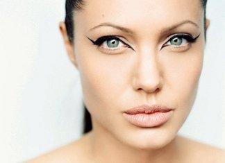 Angelina Jolie makiažas