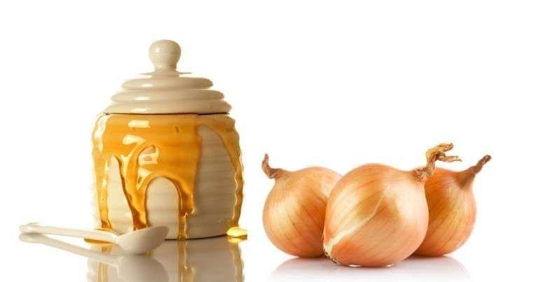 Haarmasker met ui en honing