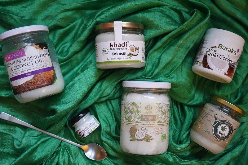Soorten kokosolie