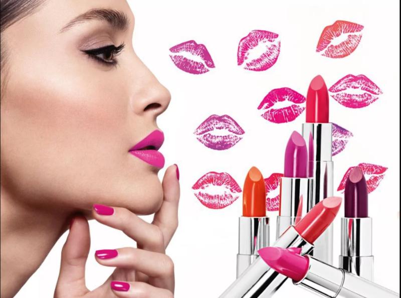 Lūpų dažų spalvos pasirinkimas