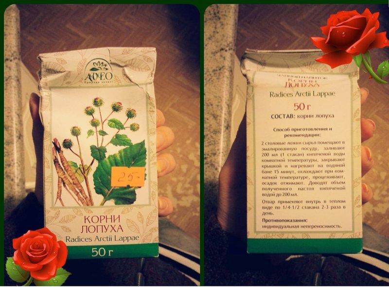 Kliswortel in farmaceutische verpakkingen