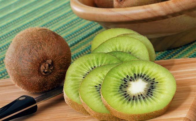 Kiwi in haarmaskers