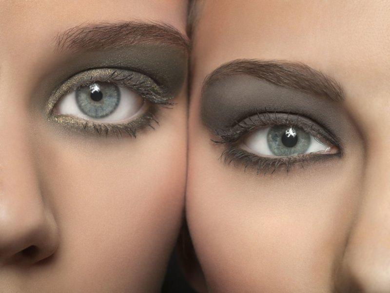 Savybės makiažas mėlynoms akims