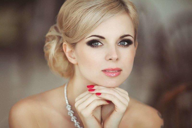 Vestuvių makiažas blondinėms