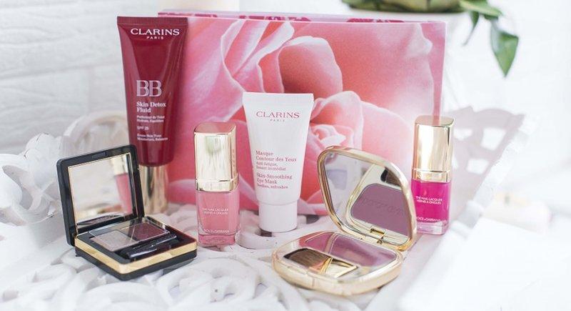 Clarins kosmetikos rinkinys
