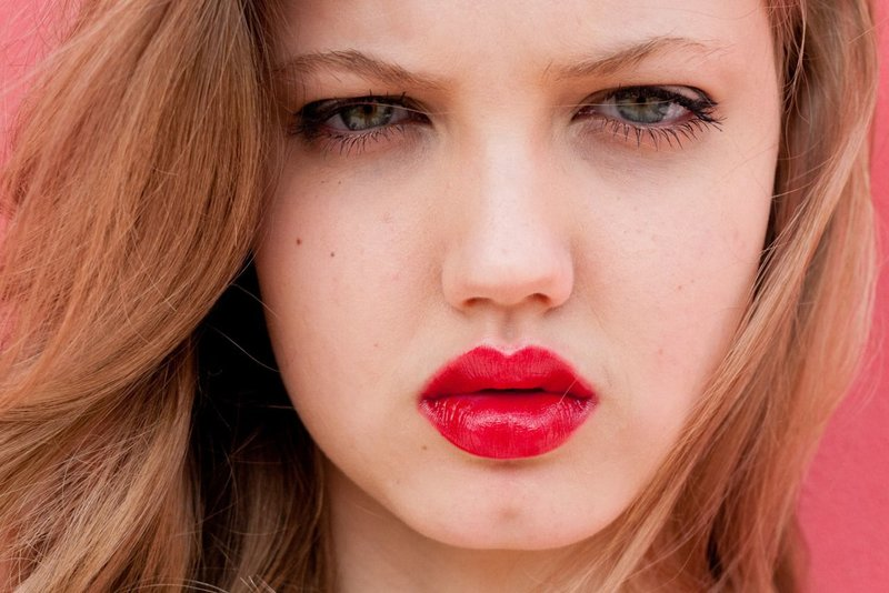 Lippen met vulstoffen