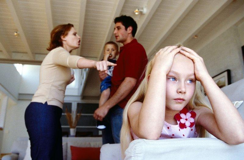 Šeimos ardymo požymiai