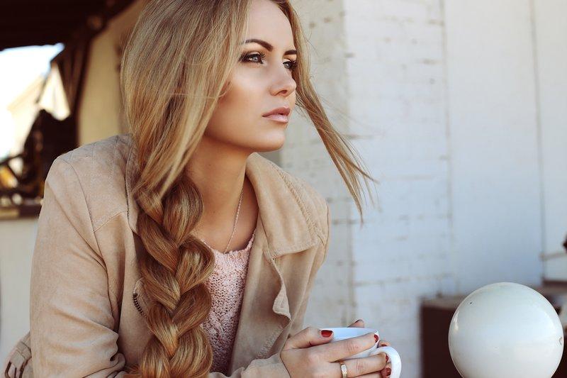 Slissy tresse sur les cheveux longs