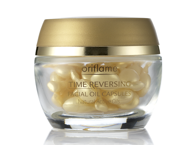 Oriflame Time Omkerende gezichtsolie-capsules