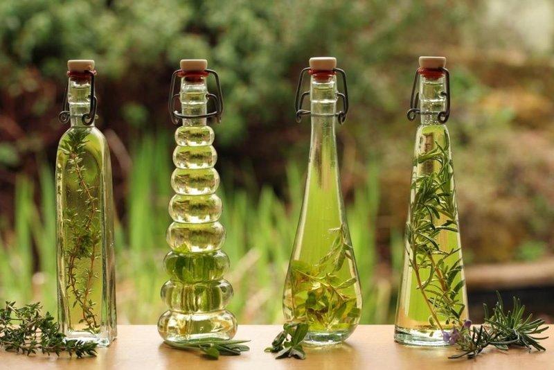 Essentiële oliën voor glans