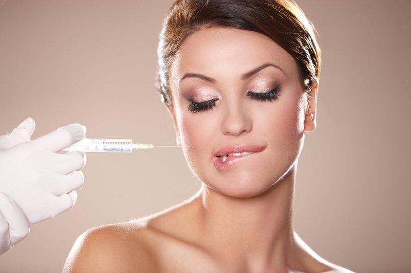 Combinatie van injecties en peeling