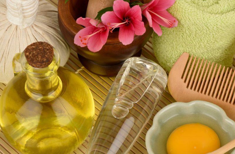 Olijfoliemasker Ingrediënten