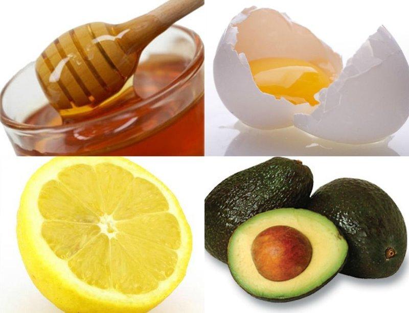 Masker met citroen en dooier