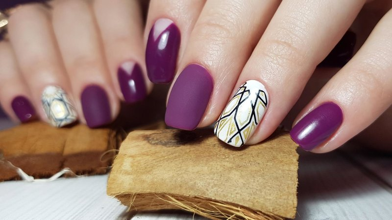 Abstracte manicure