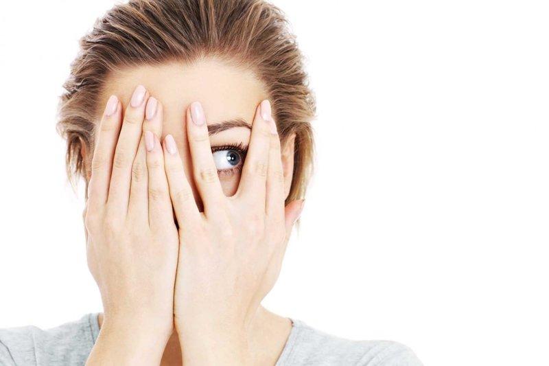 Šalutinis poveikis išvalius veidą