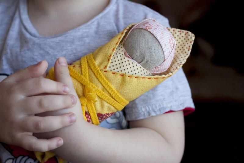 Slavische amuletten voor kinderen