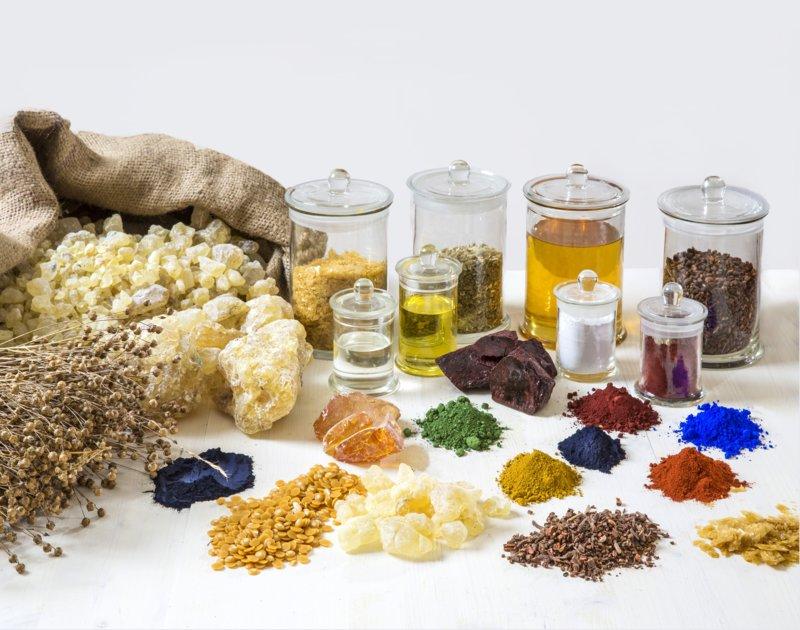 Natuurlijke haarkleuringingrediënten
