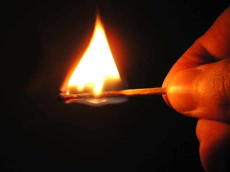 Ritualas su degtukais