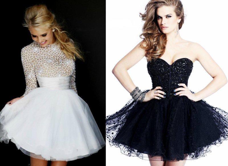 Korte prom jurken