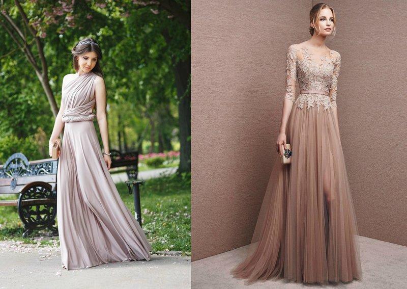 Modellen van prom dresses