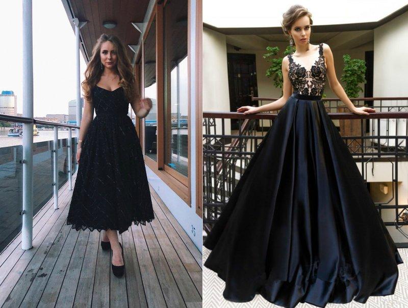 Elegante jurken in zwart