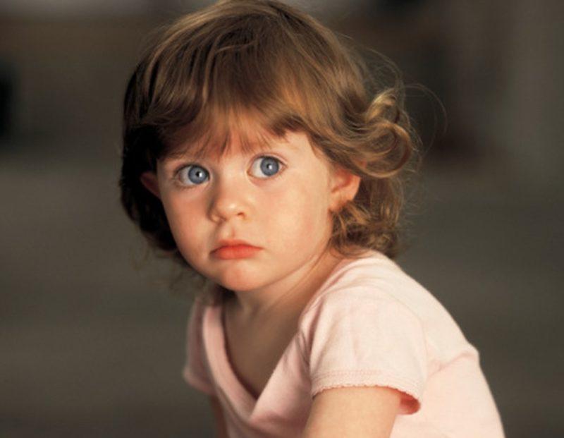 Pašalinkite blogą vaiko akį