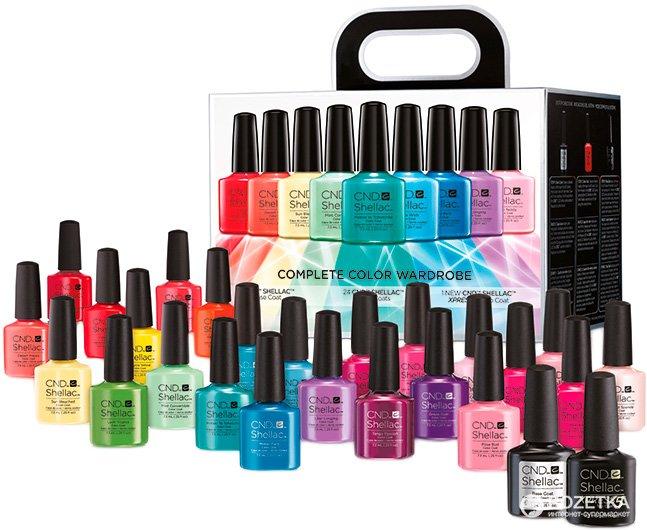 Set gekleurde gel poetsmiddelen