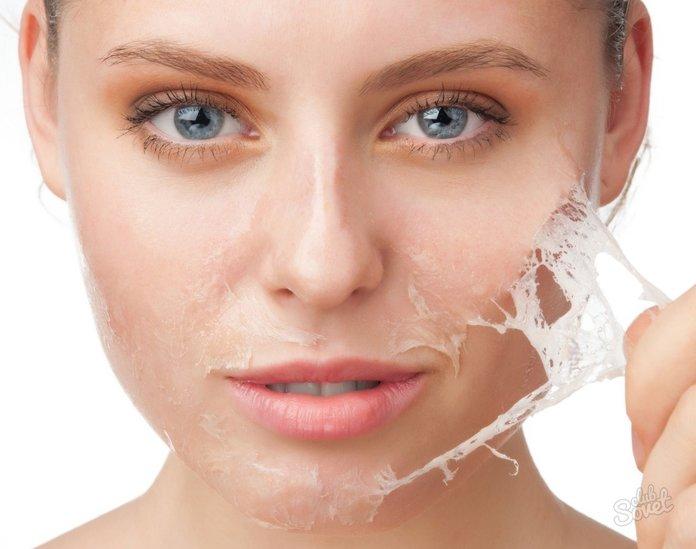 Hoe kies je een crème voor het pellen van de huid op het gezicht?