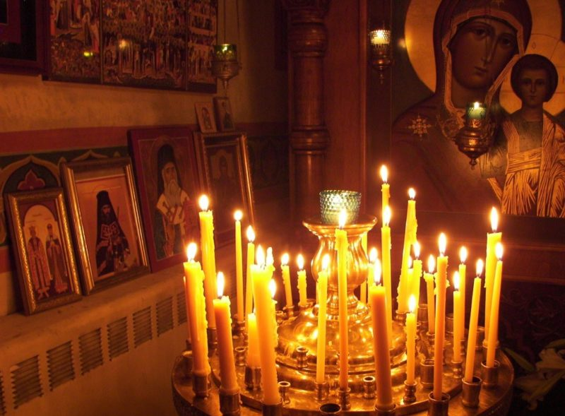 Korupcijos pašalinimas bažnyčios žvakėmis