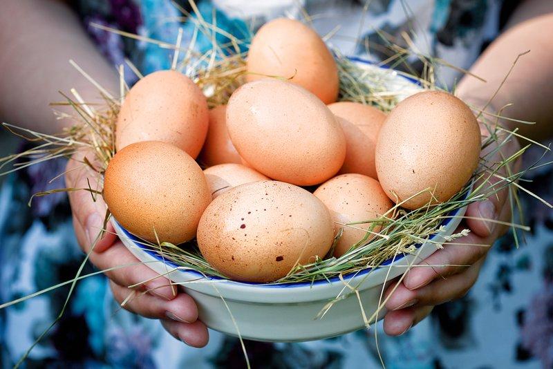 Išplakite kiaušinius