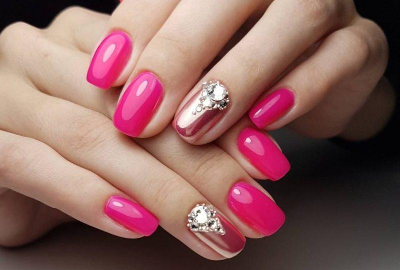 Mooie manicure met schellak