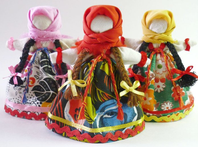 Amuletten poppen