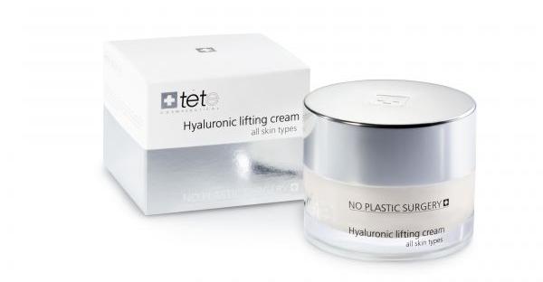 Crème met hyaluronzuur van het Zwitserse bedrijf Tete